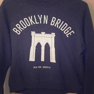 Brooklyn Bridge Forever 21 Crewneck/Sweatshirt